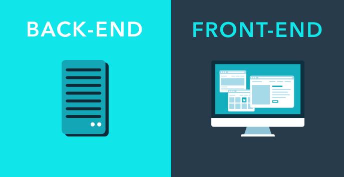 Hiểu rõ về 2 khái niệm thiết kế web Front-end và Back-end.