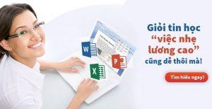 Đào tạo tin học văn phòng Hà Nội