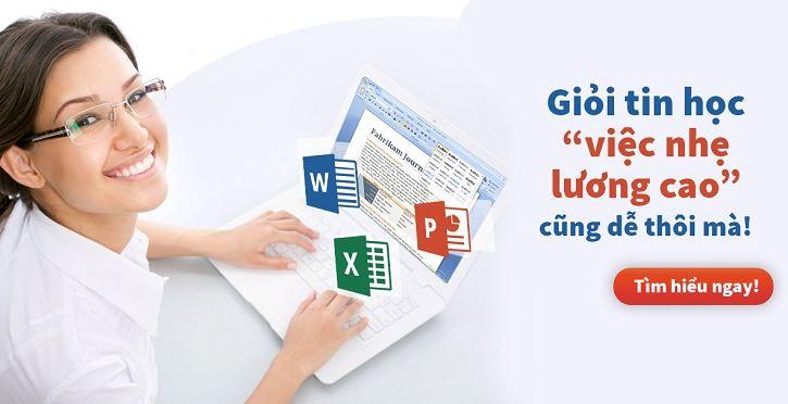 Đào tạo tin học văn phòng tại Hà Nội