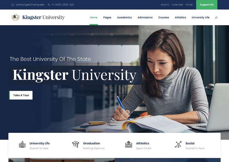 Đặc điểm của website giáo dục - trường học