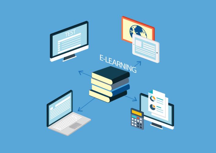 định nghĩa về học trực tuyến.