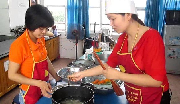 Trung tâm dạy nấu ăn thanh mai