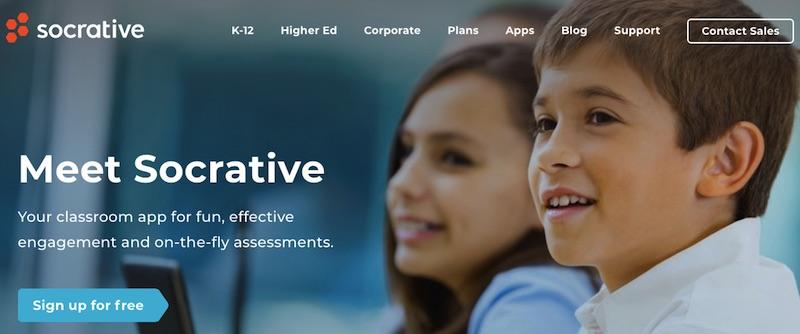 Socrative - phần mềm quản lý lớp học đa năng