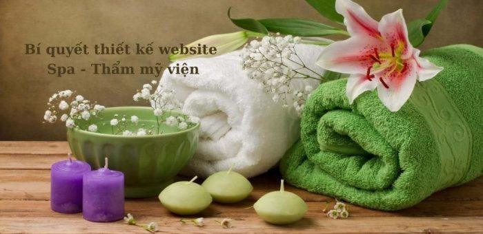 Bí quyết thiết kế website spa dành cho người mới