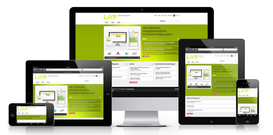 thiết kế web spa responsive