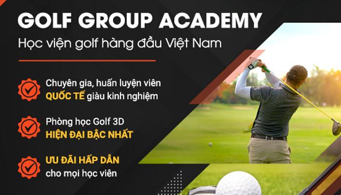 Trung tâm học đánh golf chuyên nghiệp Golf Group Academy