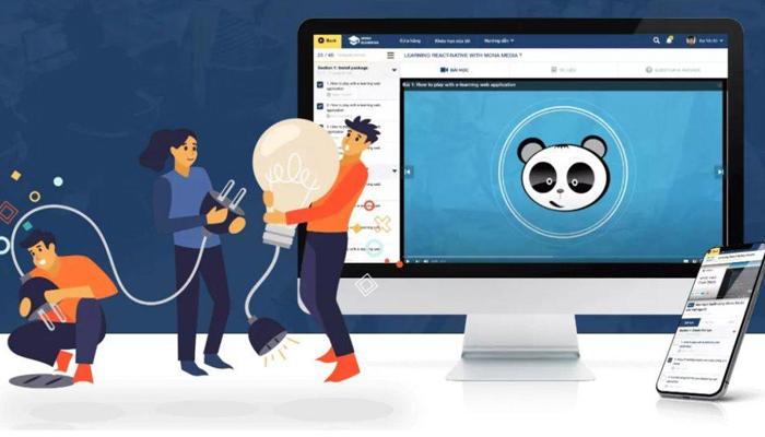 Phần mềm giáo dục hỗ trợ học trực tuyến - Mona eLMS